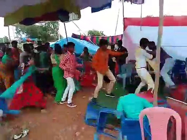 Two families fight during wedding function in Suryapet
