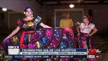Celebrating Dia De Los Muertos with Ballet Folklorico Huaztecalli