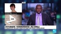 """Attaque """"terroriste"""" meurtrière au Mali : le bilan pourrait s'alourdir"""