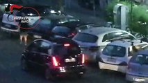 Napoli - Stretta dei carabinieri sui parcheggiatori abusivi, 83 denunciati (02.11.19)