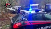Torino - Carabinieri al forte di Exilles per un rave party (02.11.19)