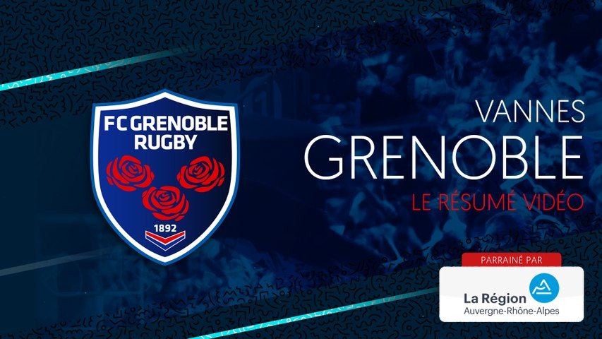 Video : Video - Vannes - Grenoble : le résumé vidéo