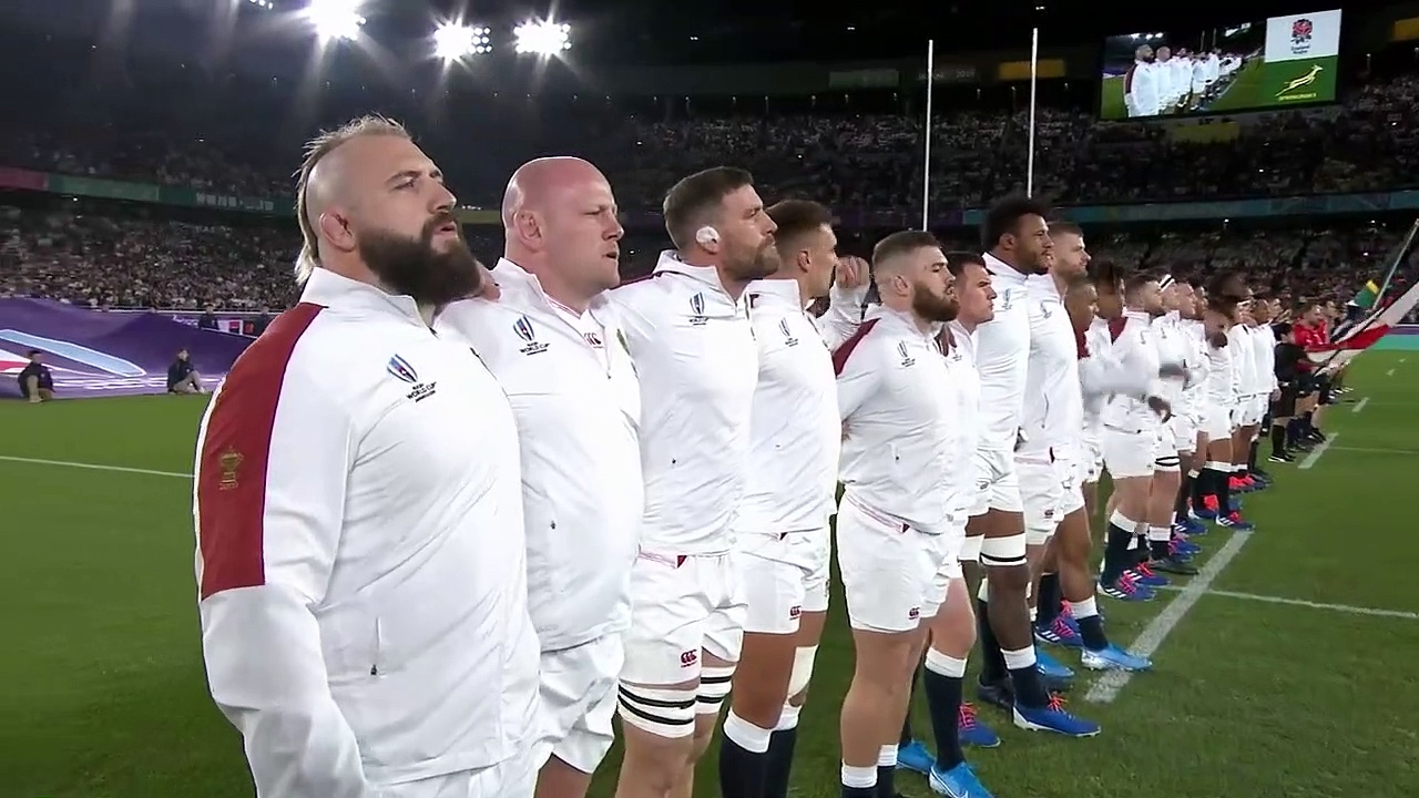 England Anthem before the Rugby World Cup 2019 Final
