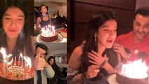 Ananya Panday celebrates her BFF Shanaya Kapoor's Birthday in special way | FilmiBeat