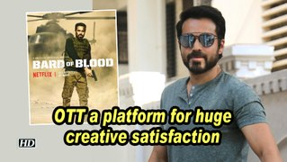 Emraan Hashmi: OTT a platform for huge creative satisfaction