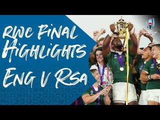 Highlights : Final - England v South Africa