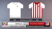Match Preview: Sevilla vs Atletico Madrid on 02/11/2019
