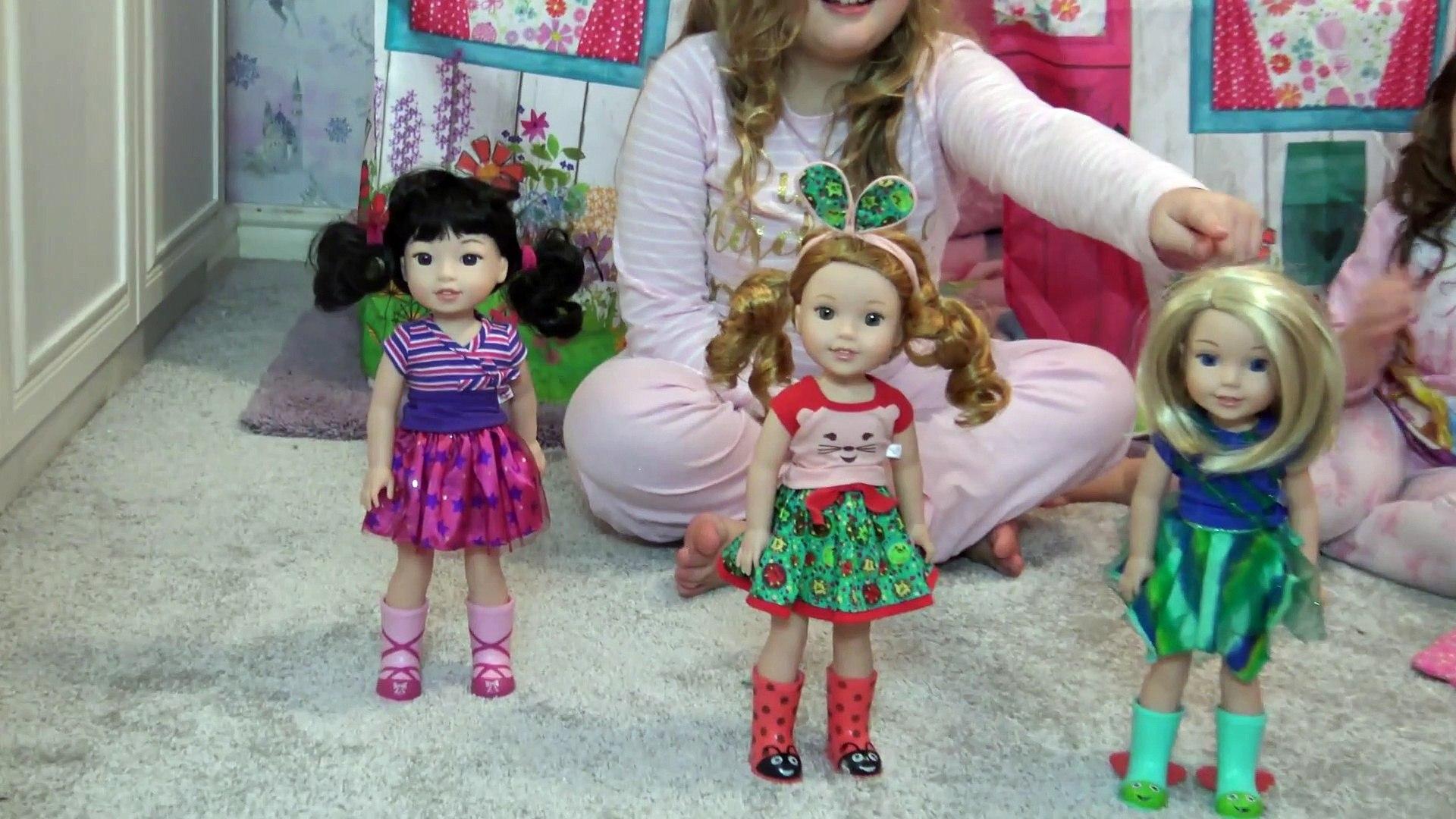Festa do Pijama da Minha  American Girl e Cabanas de Verdade
