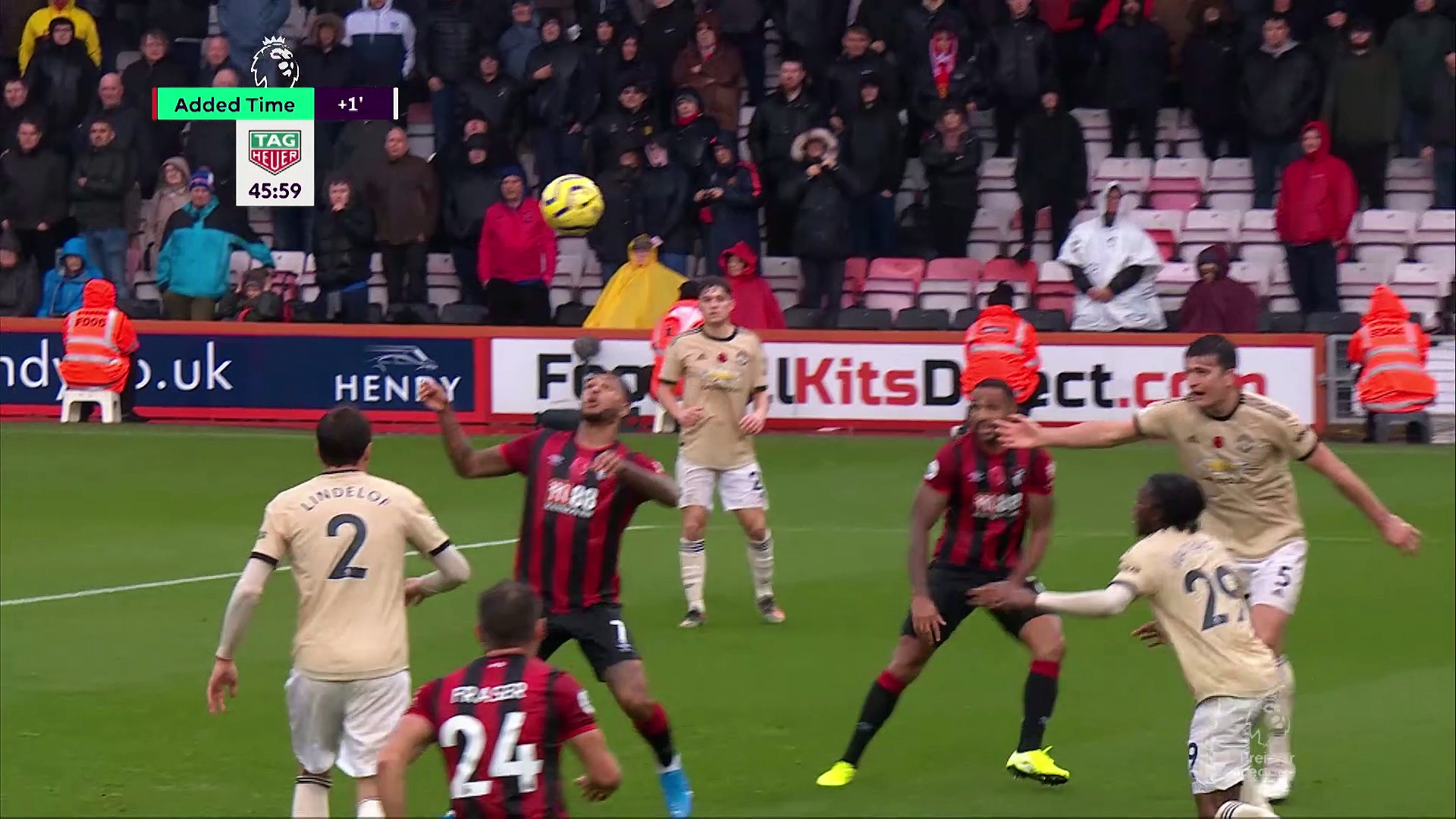 11. Hafta / Bournemouth - Manchester Unied: 1-0 (Özet)