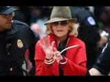 Jane Fonda encore arrêtée à 81 ans  elle a passé la nuit en prison!