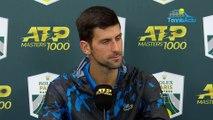 """Rolex Paris Masters 2019 - Novak Djokovic : """"Je ne vais pas révéler mes tactiques"""""""