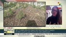 Chile llega a 15 días de protestas contra modelo neoliberal de Piñera