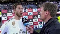 Ramos lamenta no poder tomar el liderato de LaLiga
