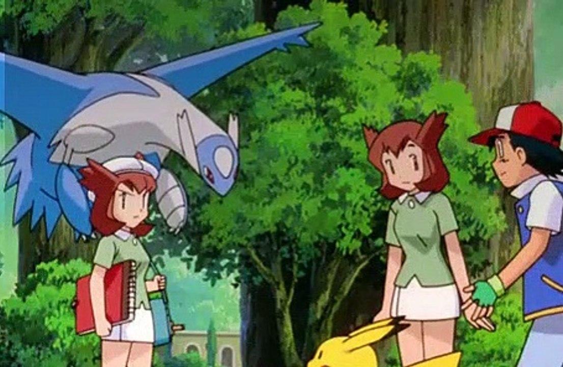Pokemon S05M01 Heroes Latios and Latias [Japanese Credits] (2002 360p  re-dvdrip) part 1/2 - video Dailymotion