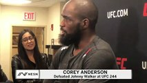 Corey Anderson Silences Doubters, Knocks Out Johnny Walker At UFC 244
