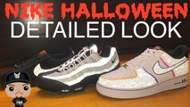 Nike Halloween Air Force 1 Low VS Air Max 95 VS Cortez Sneakers Detailed Look Review Pickone