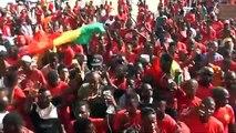 Marche à Dakar : Sénégalais,comoriens et Guinéens disent non à un 3ème mandat d'Alpha Condé