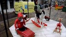Vidéo. Des automates s'invitent sur le bain romain de Pombières-les-Bains pour le marché de Noël