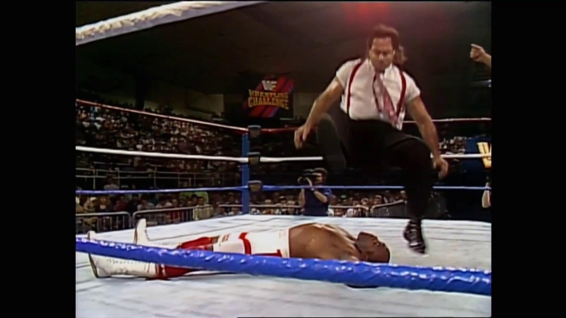 Big Boss Man Virgil Vs Irs Ted Dibiase 10 22 91