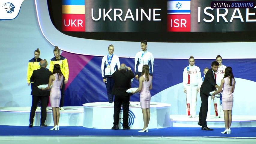 REPLAY - 2019 European Championships in Acrobatic Gymnastics - Holon (ISR) - 3 November