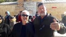 Kırşehir malezyalı ve yozgatlı hacı 27 yıl sonra kırşehir'de buluştu