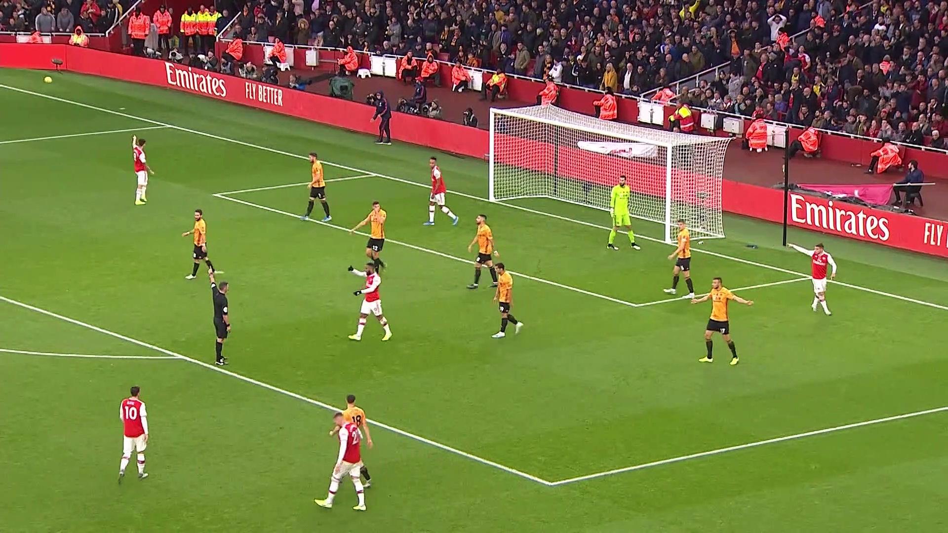 11. Hafta / Arsenal - Wolverhampton: 1-1 (Özet)