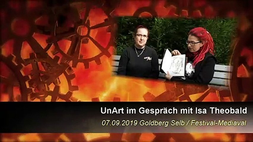 UnArt TV - Interview Isa Theobald - Festival-Mediaval 2019