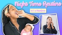 NIGHT TIME ROUTINE W/ MY NEWBORN