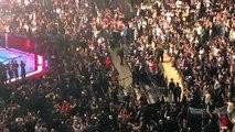 Le président américain Donald Trump hué par des spectateurs d'une soirée de combats d'arts martiaux mixtes (MMA) à New Y