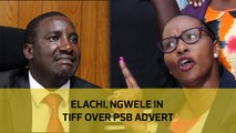 Elachi, Ngwele in tiff over PSB advert