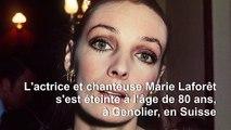 """Décès à 80 ans de la chanteuse et actrice Marie Laforêt, la """"fille aux yeux d'or"""""""