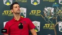 """Rolex Paris Masters 2019 - Novak Djokovic et la place de n°1 mondiale : """"Je ne veux pas en parler pour l'instant"""""""