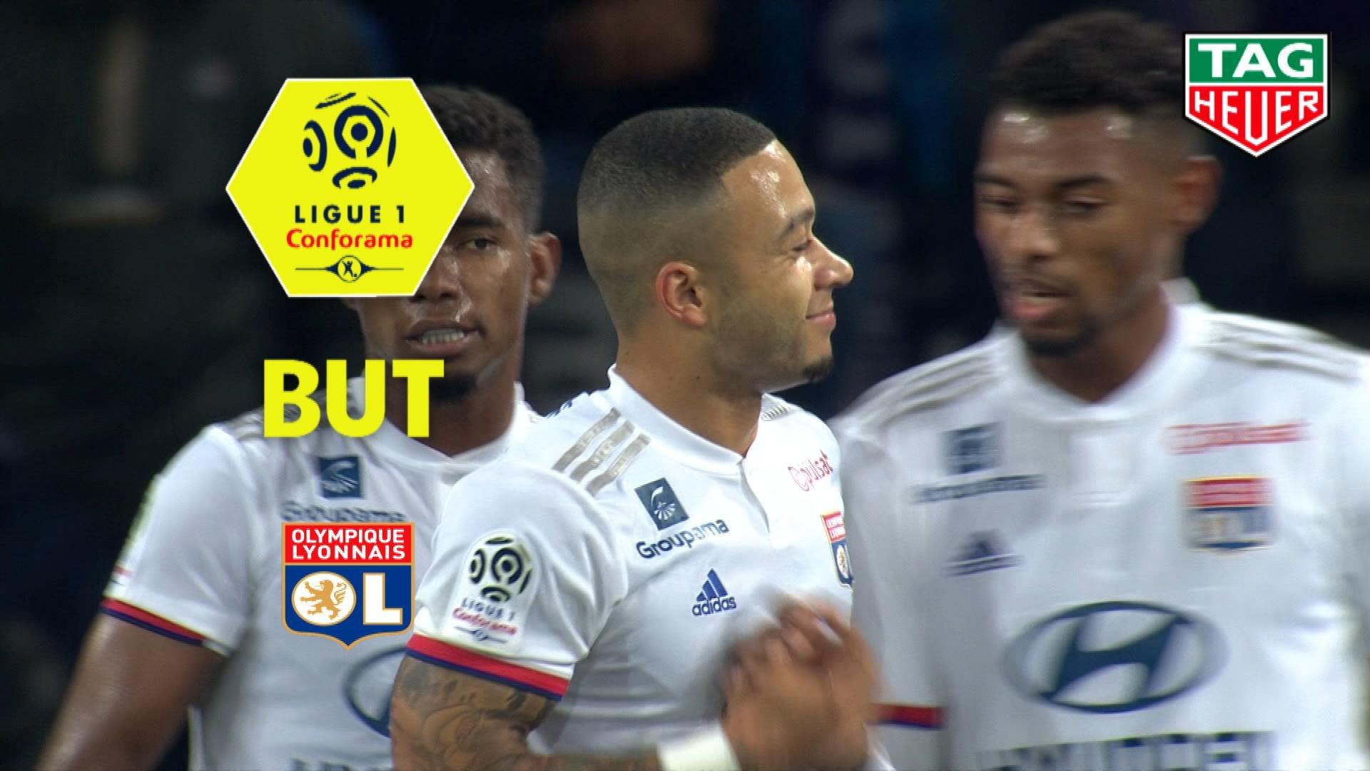 But Memphis DEPAY (26ème) / Toulouse FC - Olympique Lyonnais - (2-3) - (TFC-OL) / 2019-20