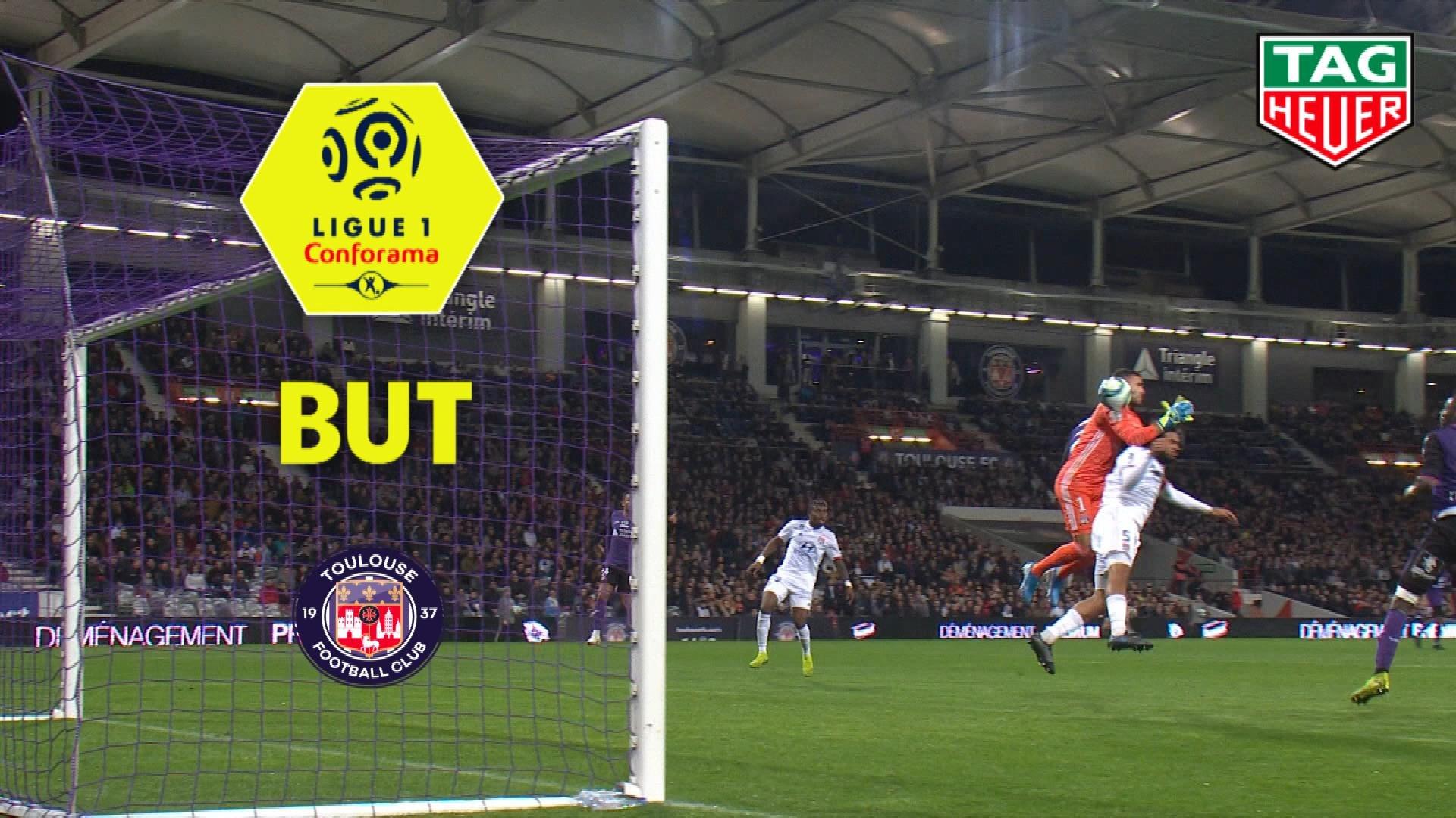 But Anthony LOPES (57ème csc) / Toulouse FC - Olympique Lyonnais - (2-3) - (TFC-OL) / 2019-20