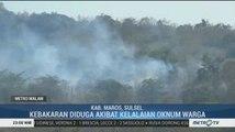 Lima Hektar Hutan dan Lahan di Maros Terbakar