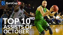 7DAYS EuroCup, Top 10 Assists of October!