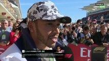 """Lewis Hamilton : """"Tellement d'émotions"""""""