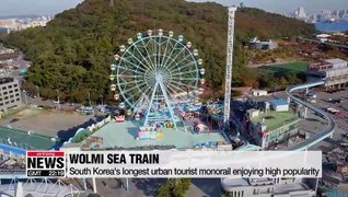 Wolmi Sea Train becomes one of Incheon's top tourist attraction