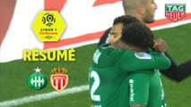 AS Saint-Etienne - AS Monaco (1-0)  - Résumé - (ASSE-ASM) / 2019-20