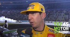 Kyle Busch after Texas: 'A battle between the No. 18 and the No. 22'