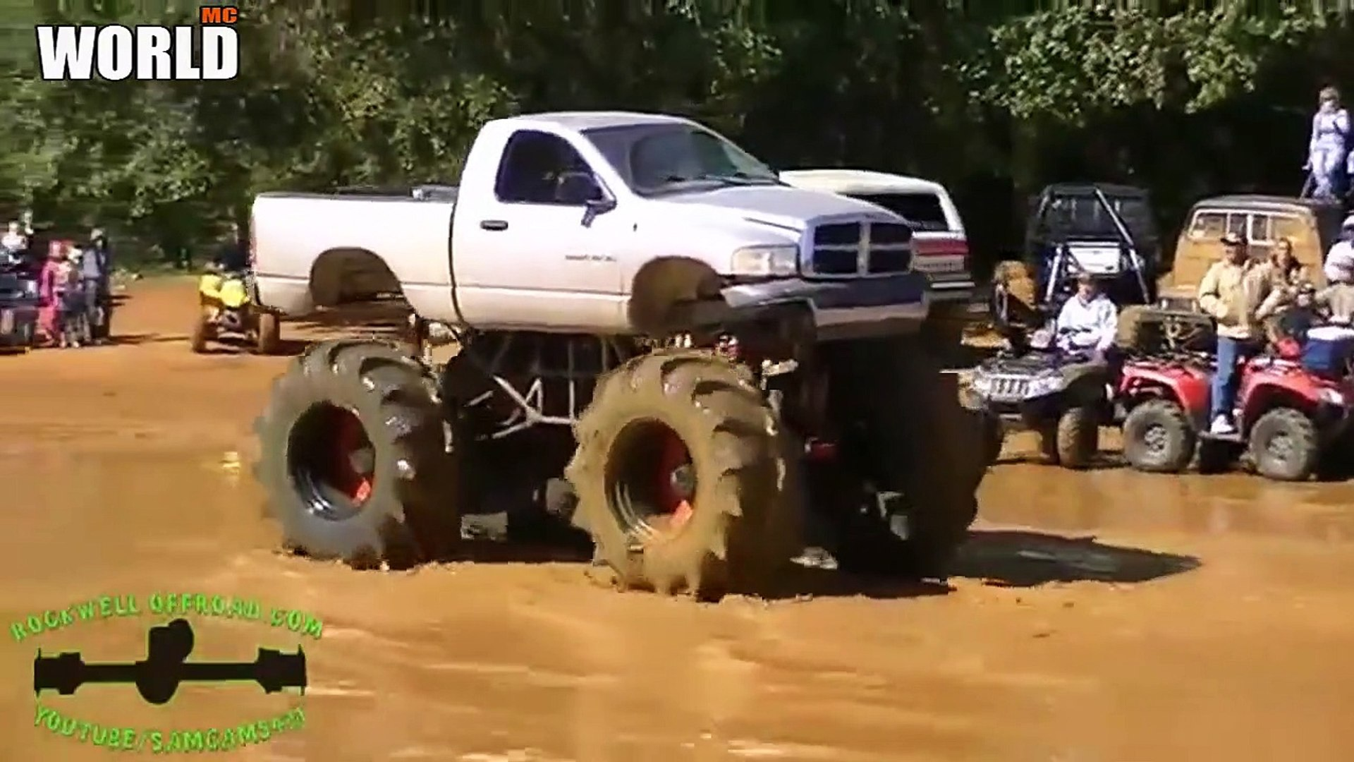 Amazing Monster Truck Biggest Mud Bogging Truck Rammunition Monster Truck 4 Video Dailymotion