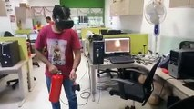 Fire Safety Training in Virtual reality | The Real Fire Extinguisher in Virtual Reality