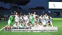S. Korea beat Angola to reach quarter-final of FIFA U-17 World Cup