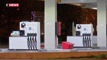 Une pompe à essence distribue gratuitement du carburant toute la nuit à Sartrouville
