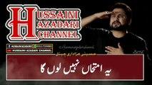Noha Status 2019 - Aye Hur Jawan Ka Lasha | Syed Raza Abbas Zaidi | Hussaini Azadari Channel