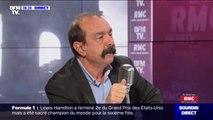 """5 décembre: pour le secrétaire général de la CGT Philippe Martinez, l'appel des gilets jaunes à rejoindre la grève """"est une très bonne chose"""""""