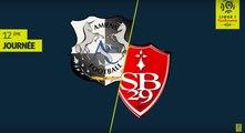 Résumé Amiens SC - Stade Brestois 29 ( 1-0 )  - (ASC - BREST) / 2019-20