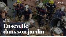 Une Niçoise tuée dans un glissement de terrain dans son jardin