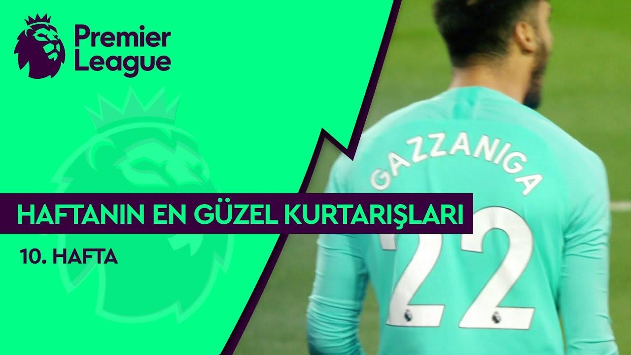 Premier League'de 10. Haftanın En Güzel Kurtarışları (2019/20)