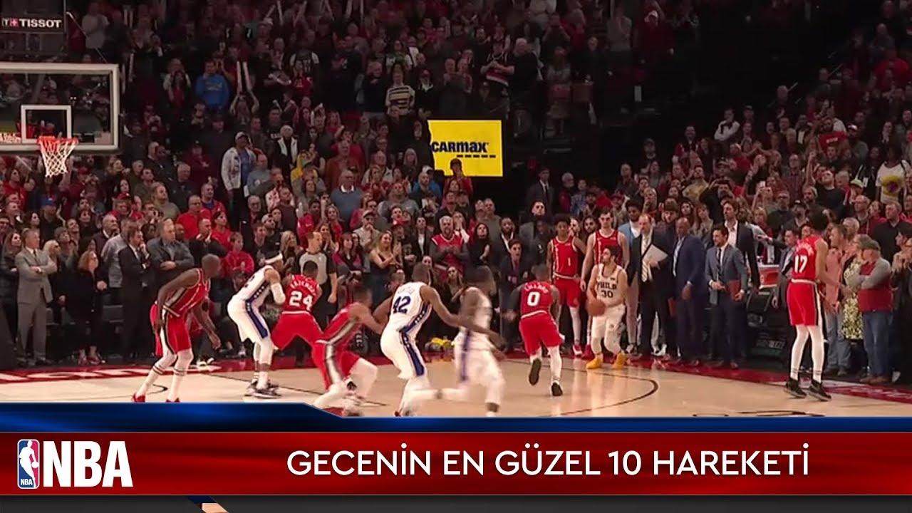NBA'de Gecenin En Güzel 10 Hareketi | 3.11.2019